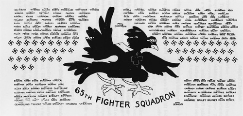 65th Fighter Squadron Bar Pic Courtesy Jimmie R Long Jr